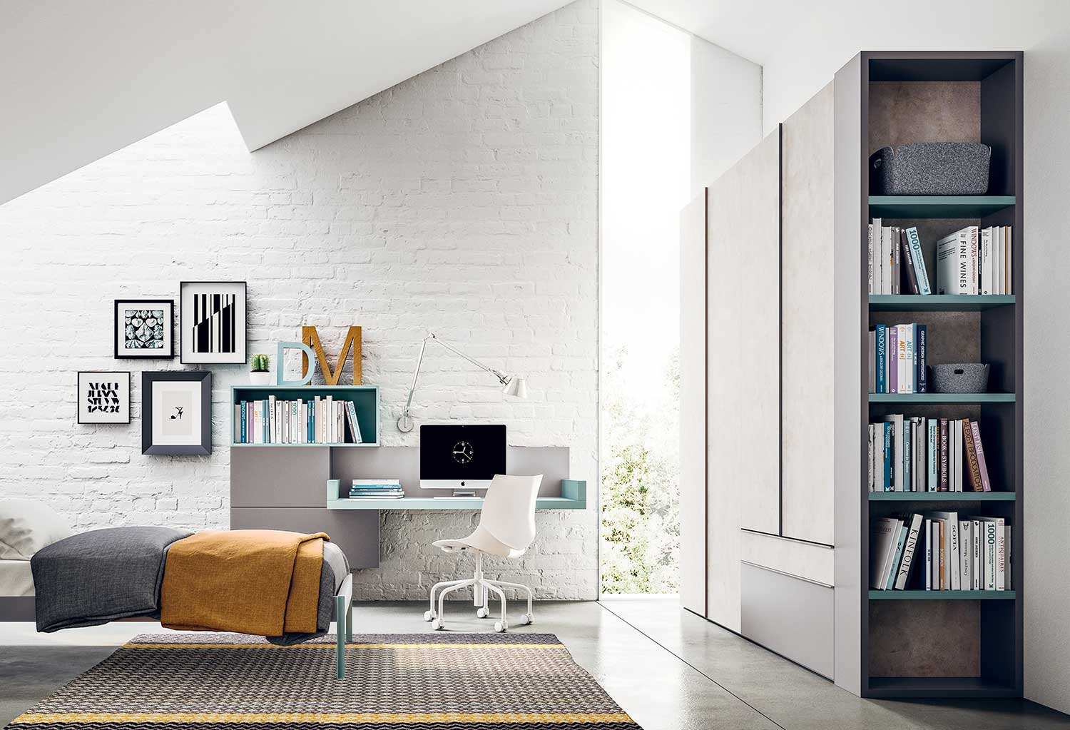 Armadio Con Terminale : Armadio con terminale libreria lateral clever