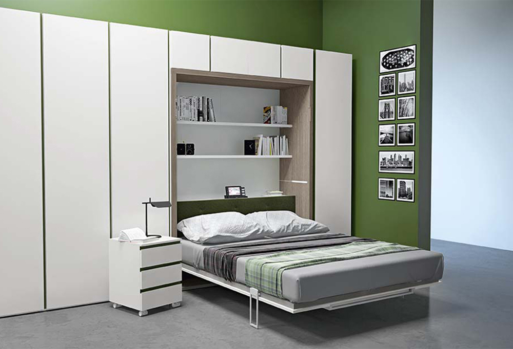 Ima murphy bed table combo clever it - Armadio a letto ...
