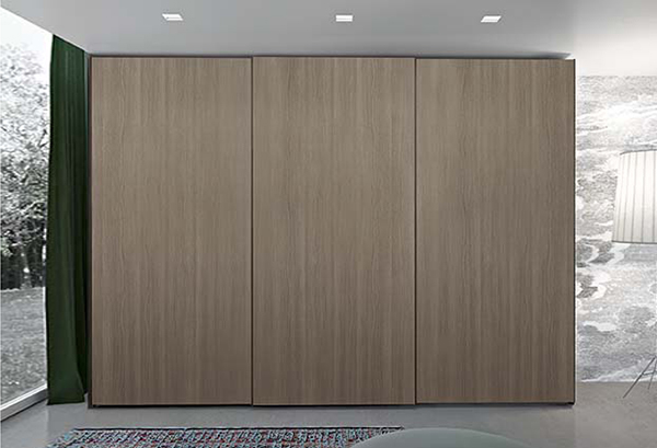 Point wardrobe with sliding doors - CLEVER.IT