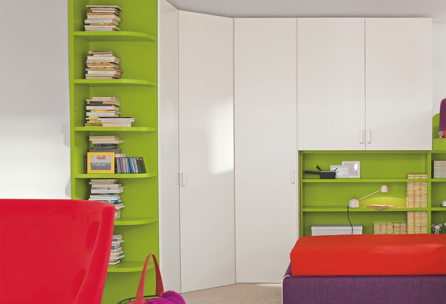 Start corner walk in closet clever it for Cabina armadio low cost