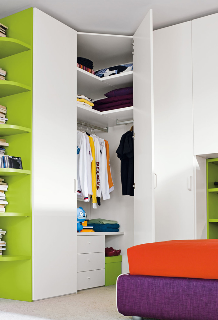 Start corner walk in closet clever it - Armadio a cabina angolare ...