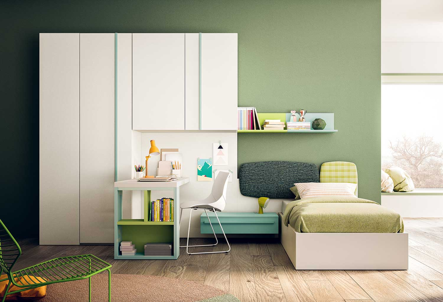 Start P18 is a great solution for a small bedroom for one child