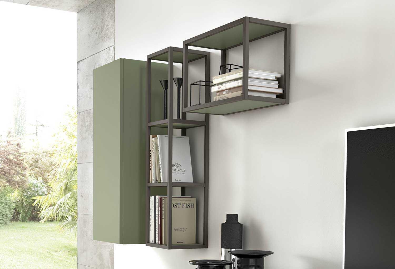 Librerie In Metallo Scaffali.Mensola Scaffale Libreria Kios Clever