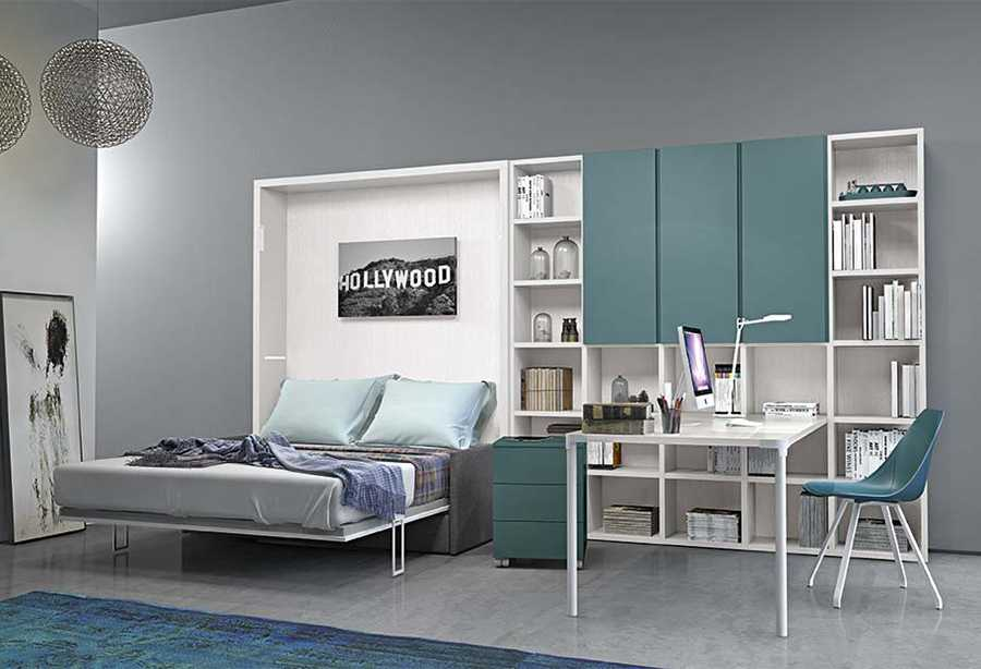 Arredamento home office dynamic study 1 clever for Arredamento office