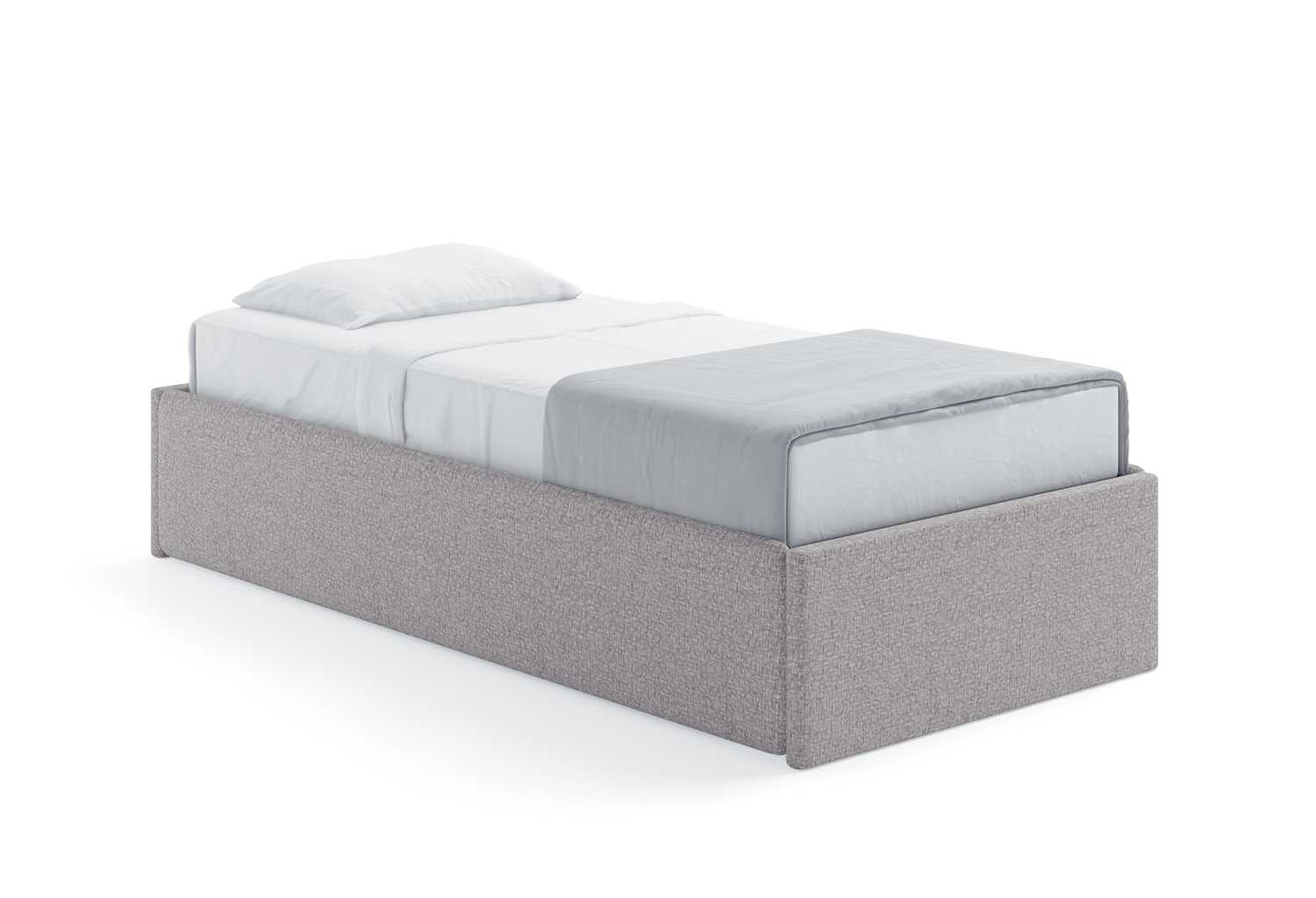 Letto Sommier Contenitore.Letto Sommier Singolo Less Sommier Clever