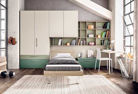 Spar Camerette A Ponte.Kids Bedrooms With Bridging Units Clever