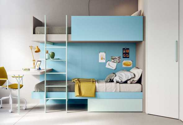 Letto A Castello Twins.Teen Kids Beds Clever
