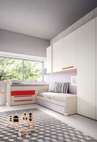 Lobby low and mid sleeper cabin beds with drawers