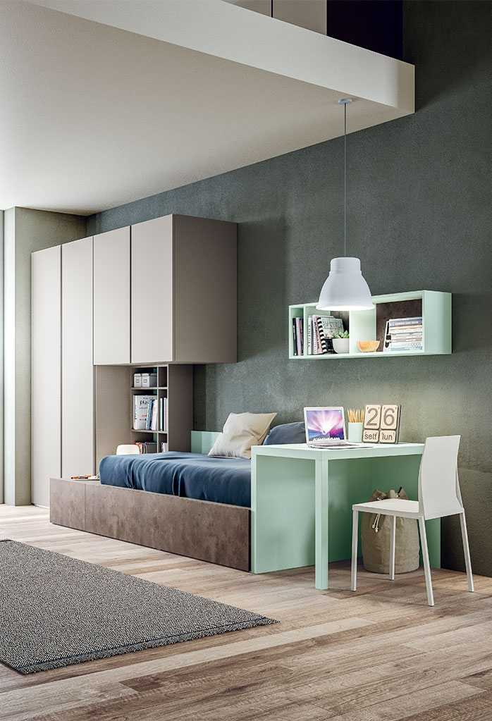 Small Box Room Cabin Bed For Grandma: Kids' Bedroom With Cabin Bed Start P19