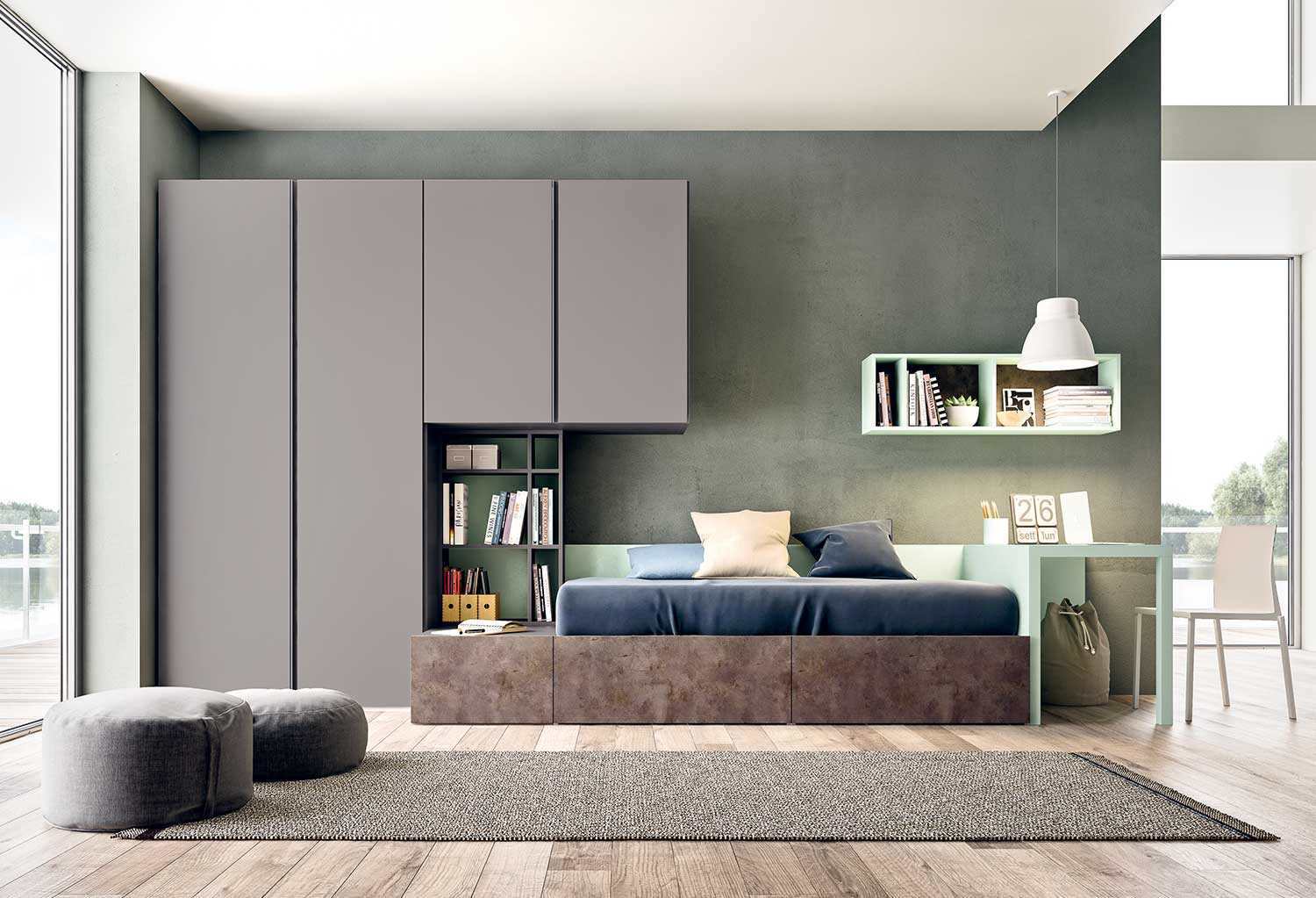 Kids Bedroom With Cabin Bed Start P19 Clever