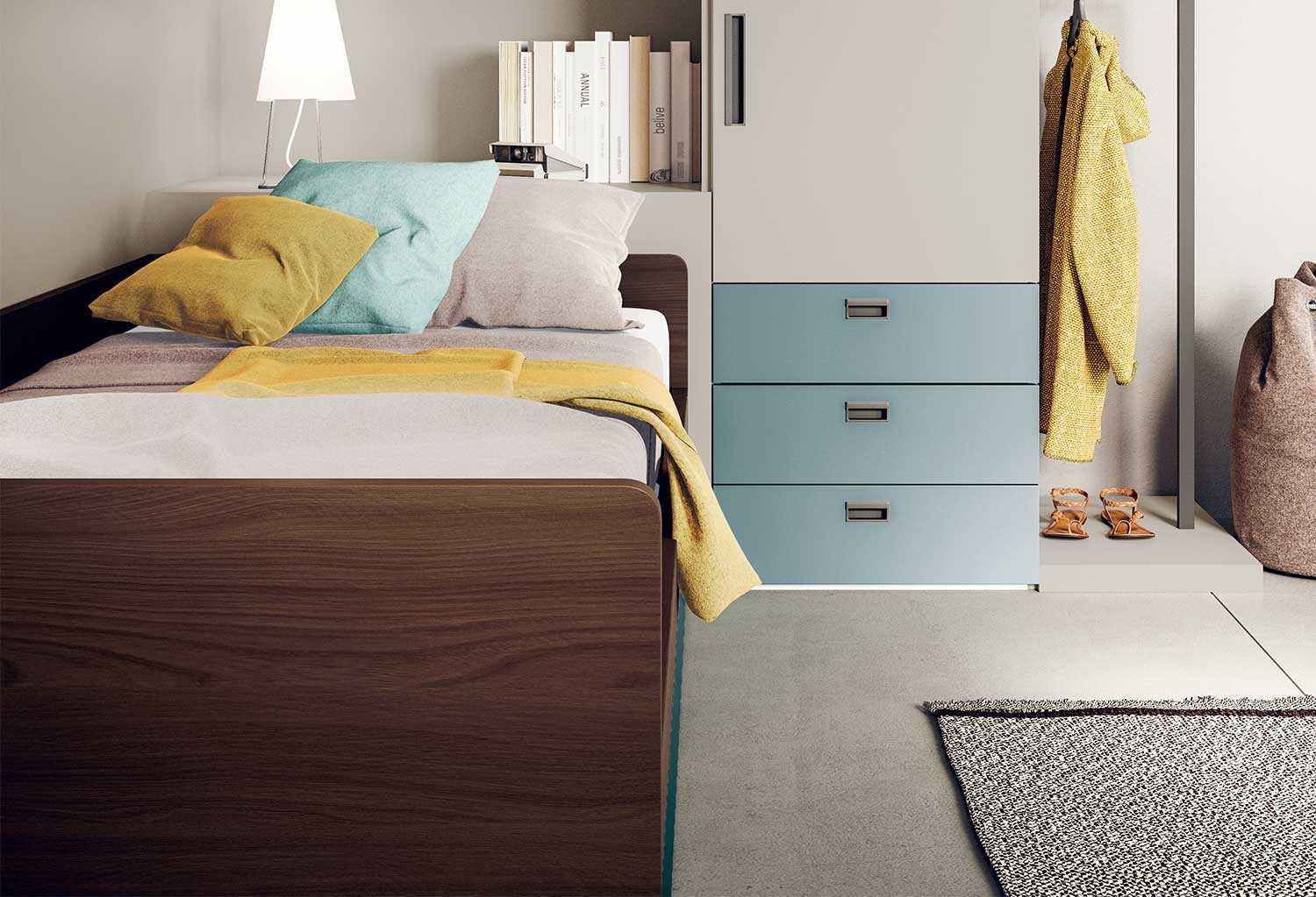 Apollo Small Sofa Bed For Kids Bedrooms Clever