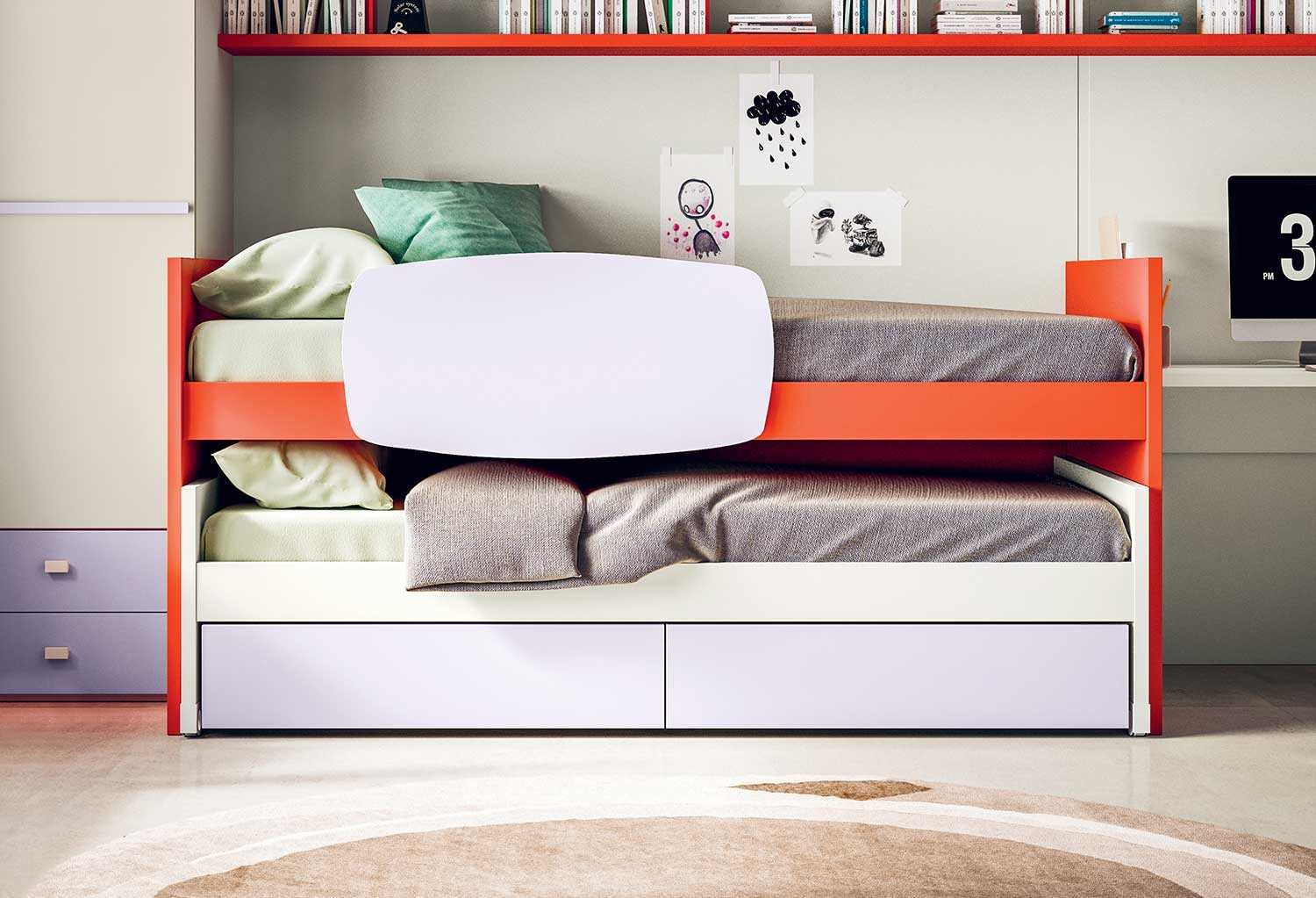 lobby basso sliding pull out bed clever