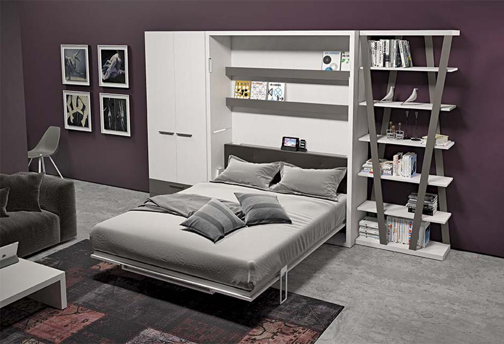 Mobile letto a scomparsa per soggiorno