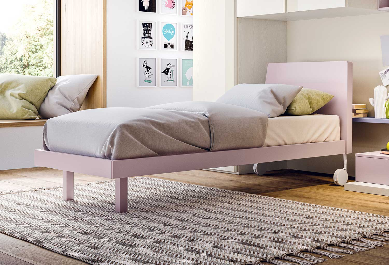 Modern girls' single bed Archè
