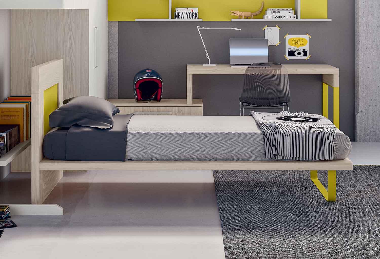Puzzle in una versione letto dal design moderno per la camera di un ragazzo