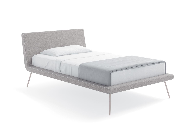 Slitta è un letto dal design minimal