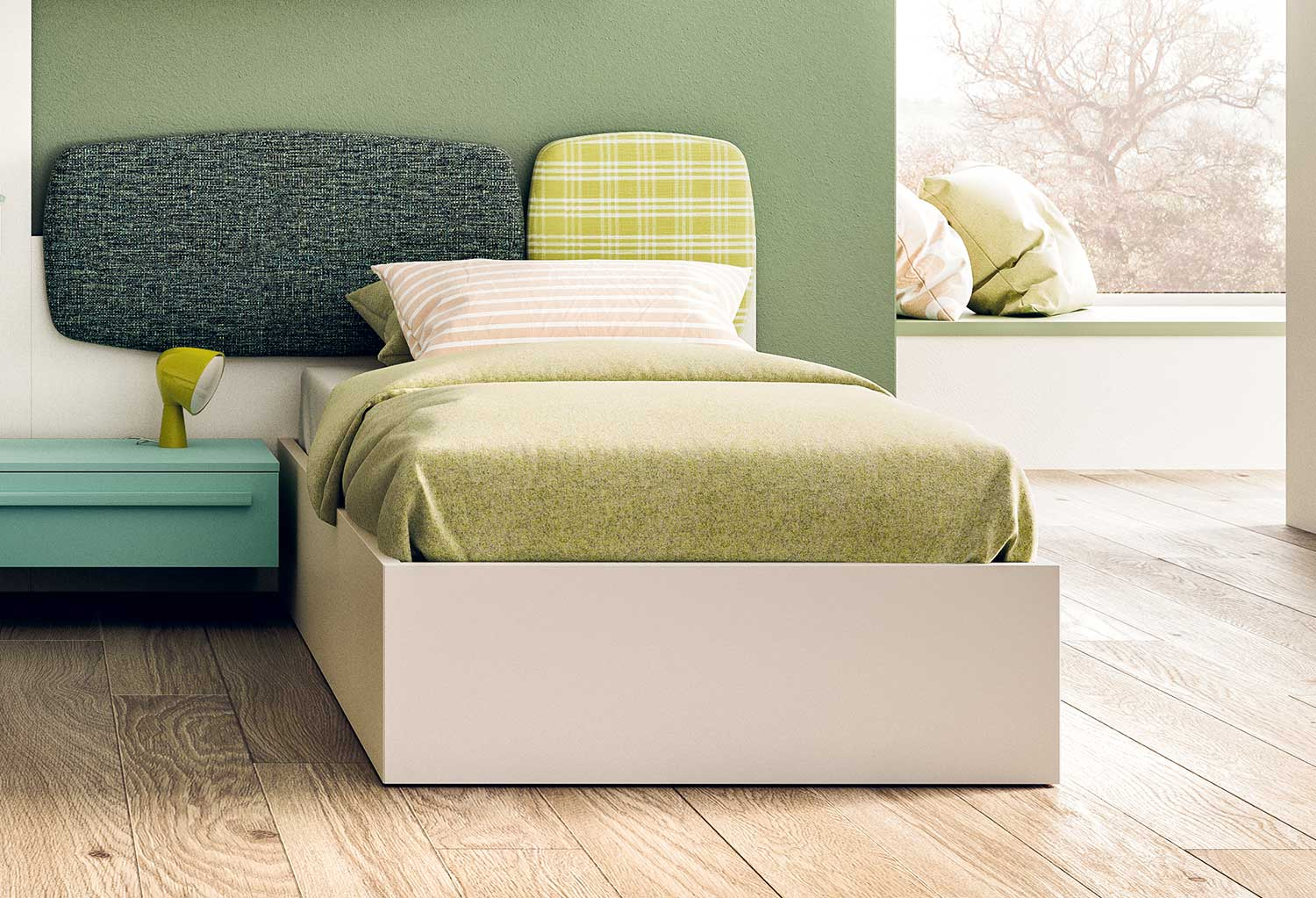 turca single ottoman bed clever it