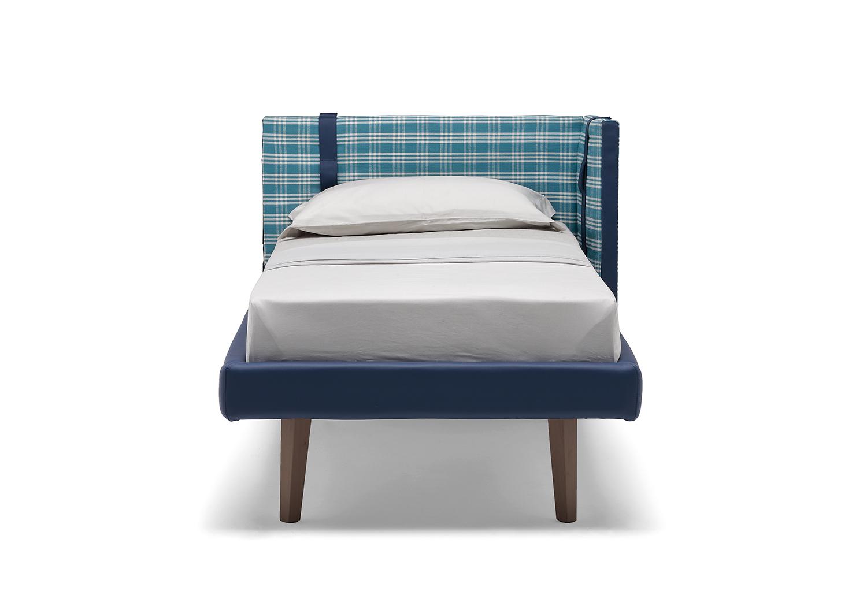 Sipario è un letto singolo colorato altamente personalizzabile