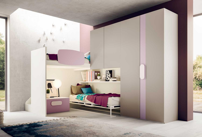 Castelponte kids loft bed - CLEVER.IT