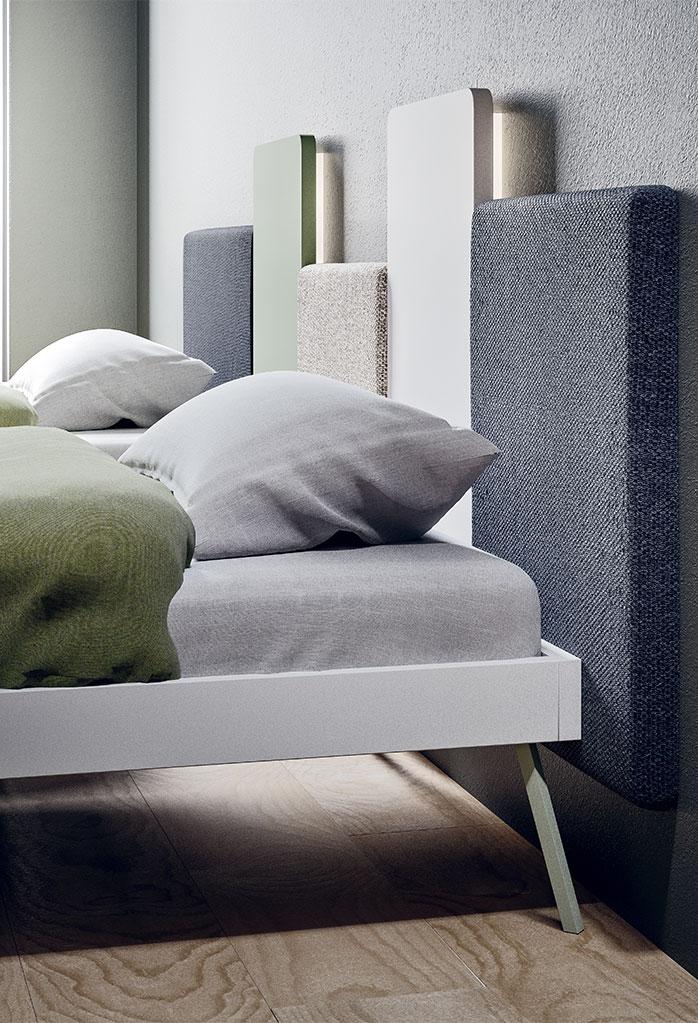 Wall modular upholstered paneling