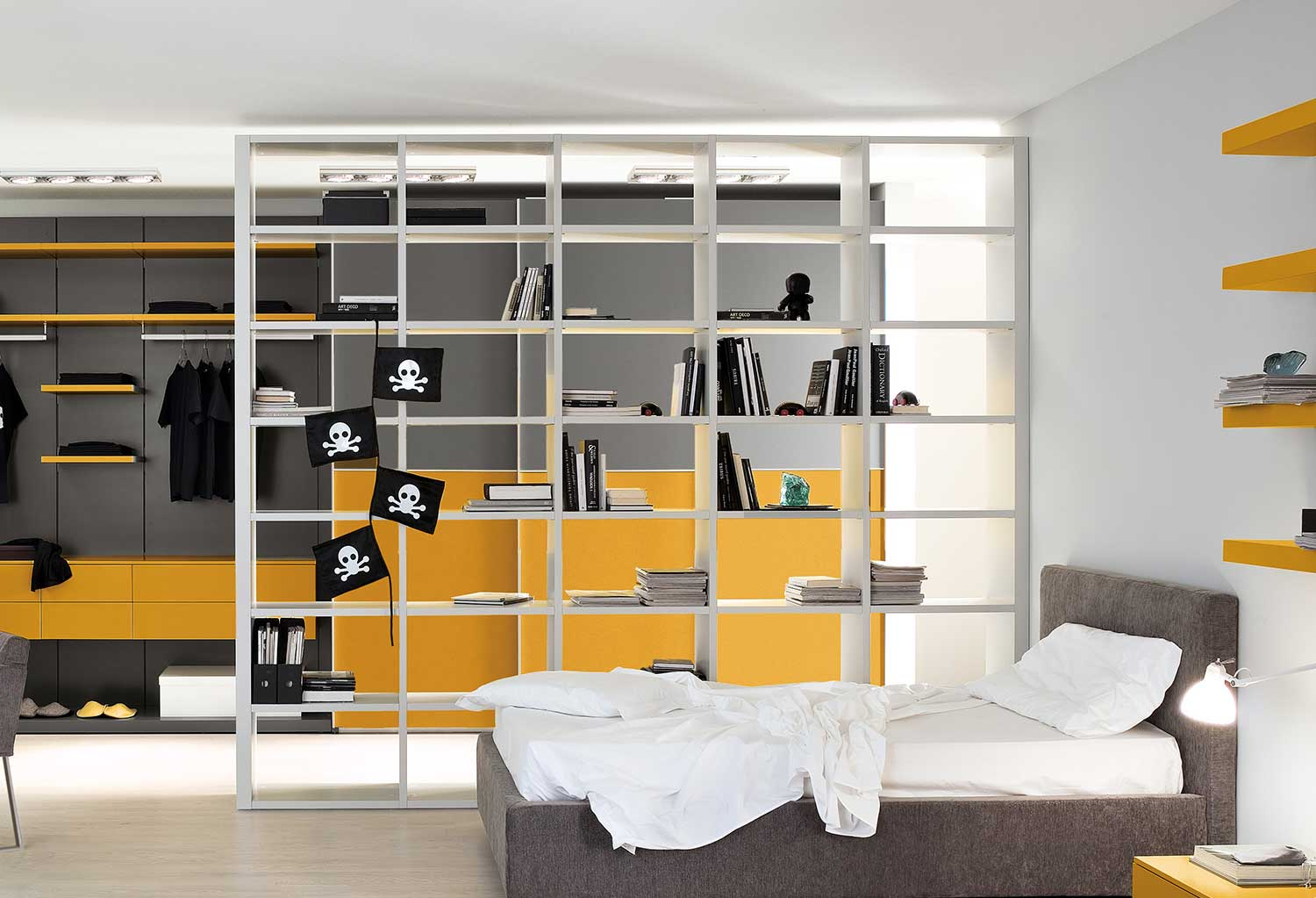 Start double-sided modular bookcase - CLEVER.IT
