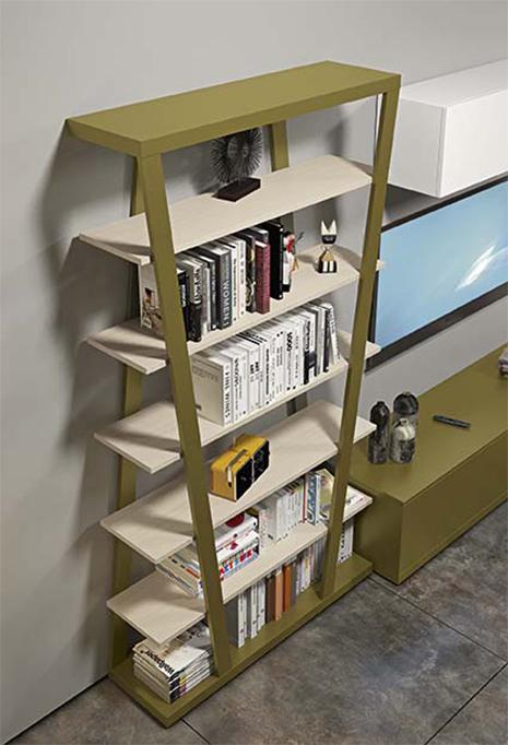Dettaglio libreria di design Hon di Clever