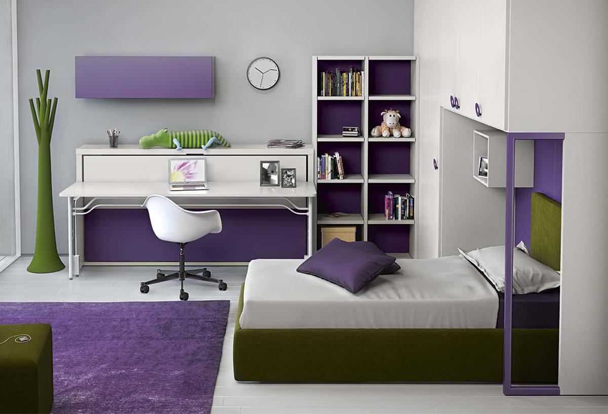 Libreria a parete componibile modello Start - Parete - CLEVER.IT