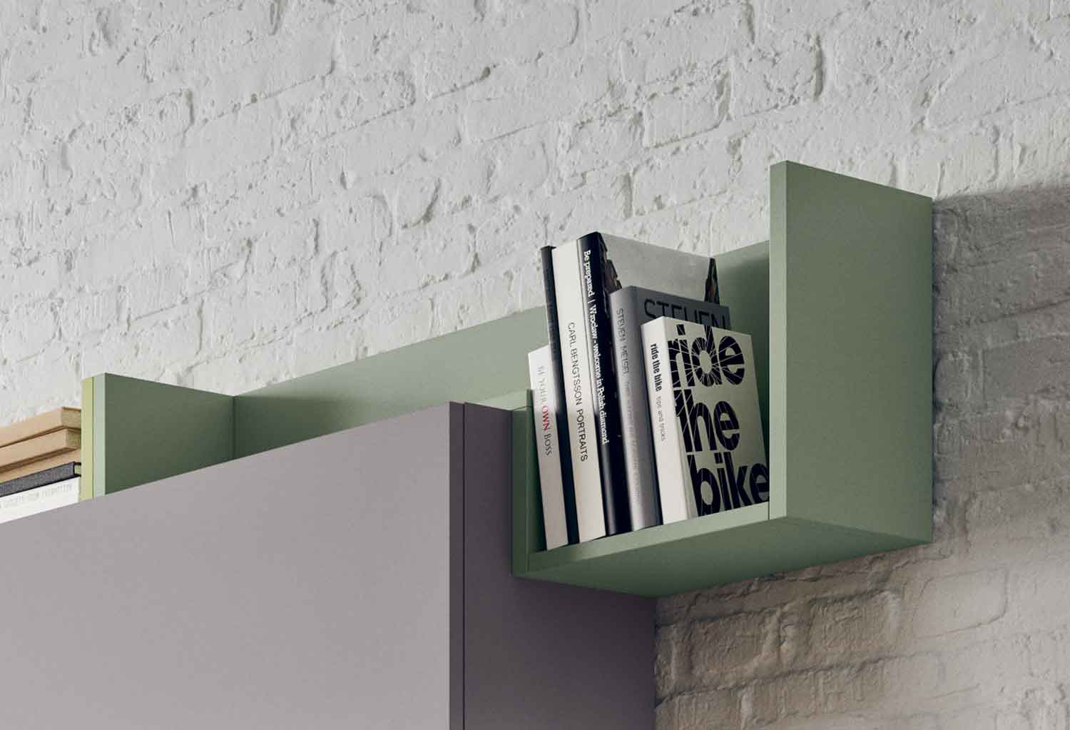 Fedra shelf and Box storage unit