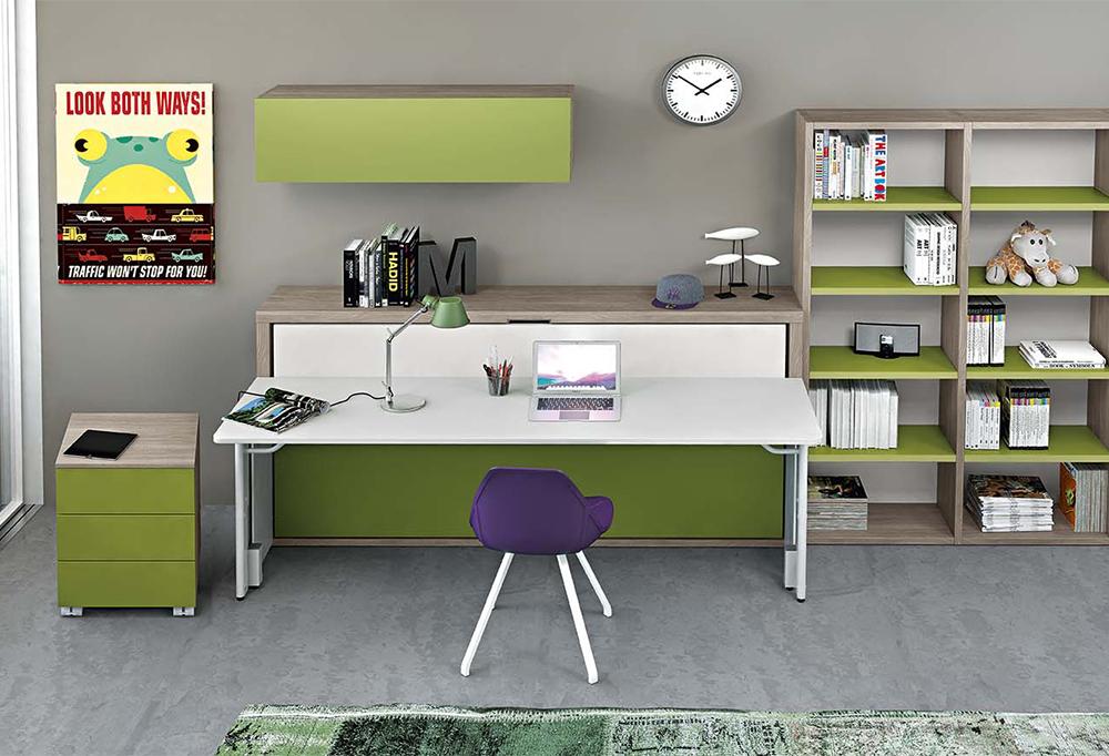 Letto e scrivania a scomparsa miu clever it for Letti usati