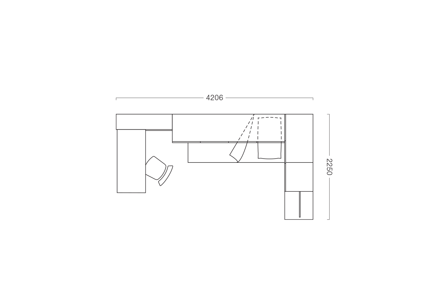10 mq bedroom set floor plan