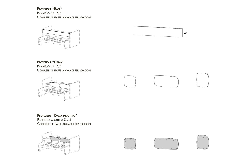 Protezioni anticaduta per letto superiore