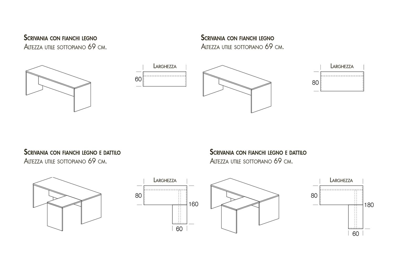 Modelli disponibili lineare e lineare con dattilo