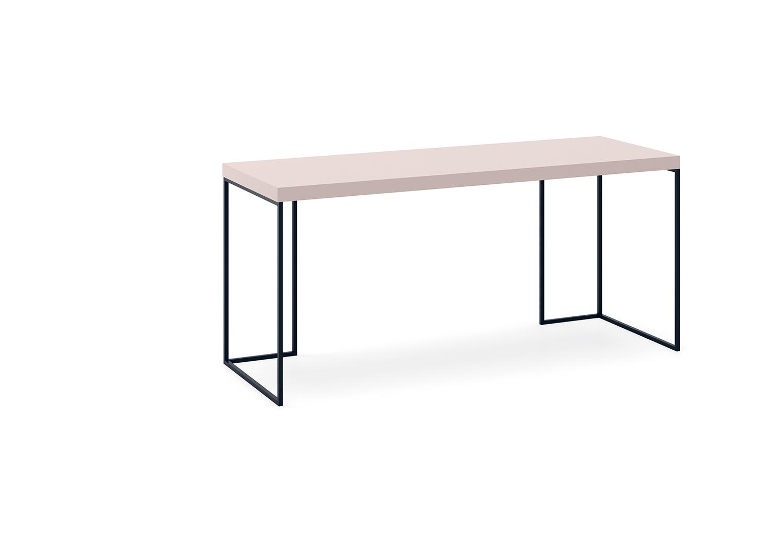 Kios desk with metal frame