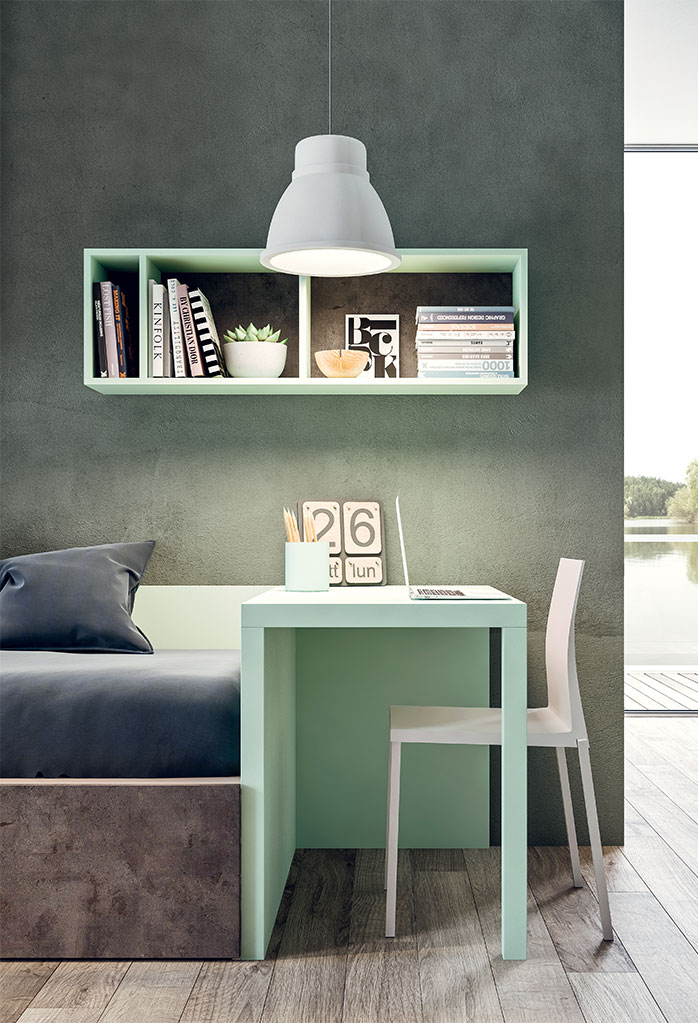 Bed end Quadro desk