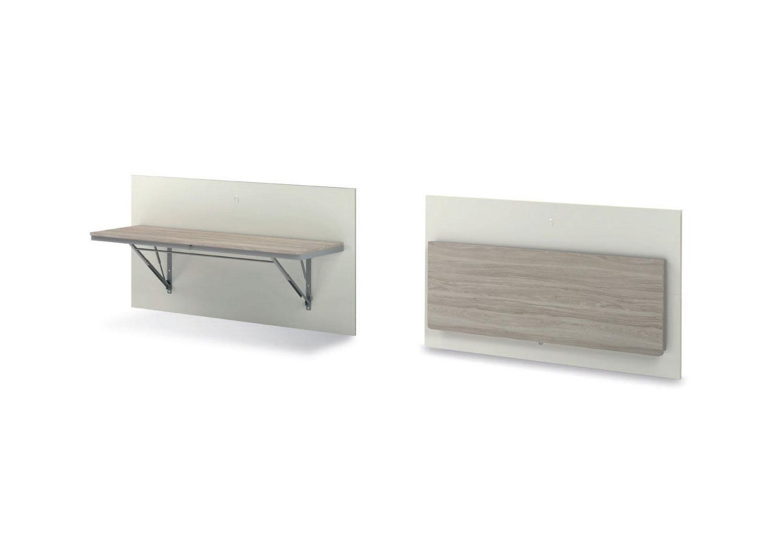 Tavolo Ribaltabile A Parete wall mounted foldable desk voilà | clever