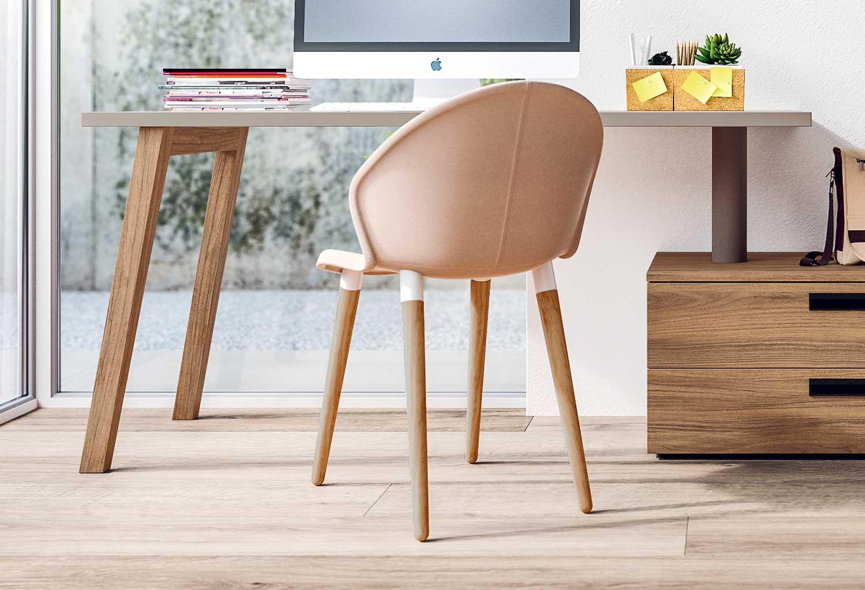 Zen è una sedia per la scrivania della cameretta, ideale anche in salotto o soggiorno