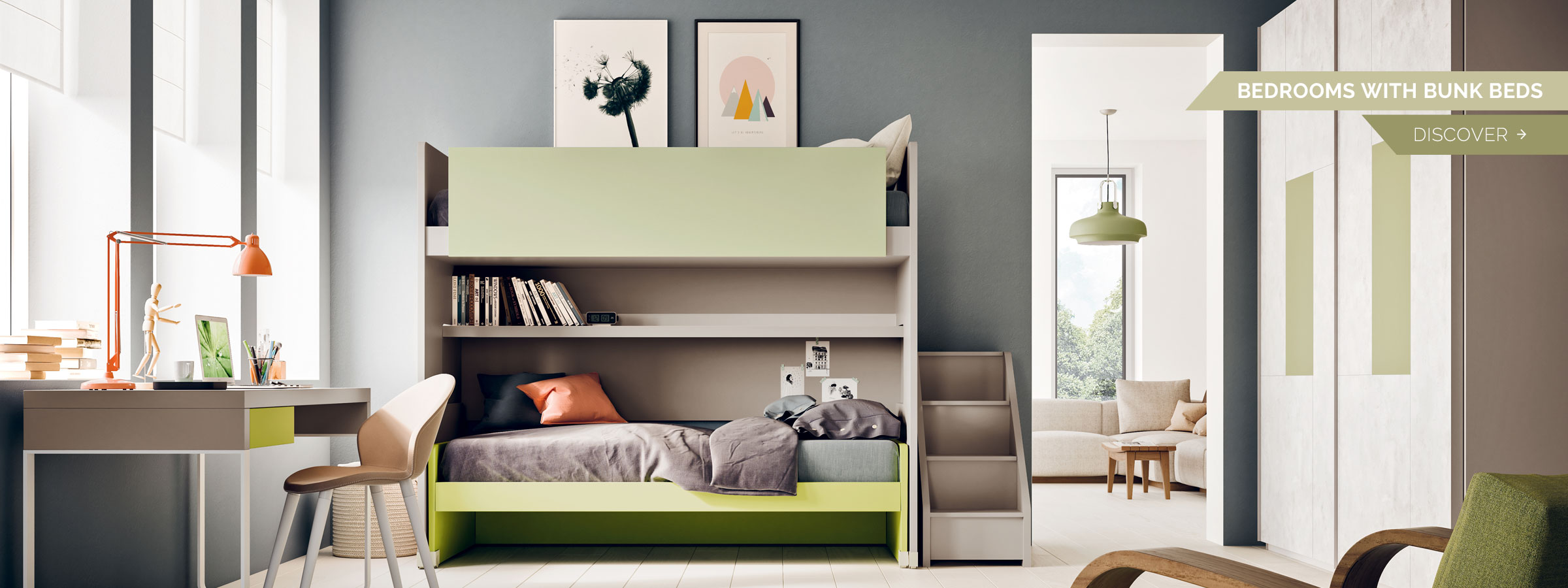 Picture of: Kids Bedroom Furniture Space Saving Solutions Clever