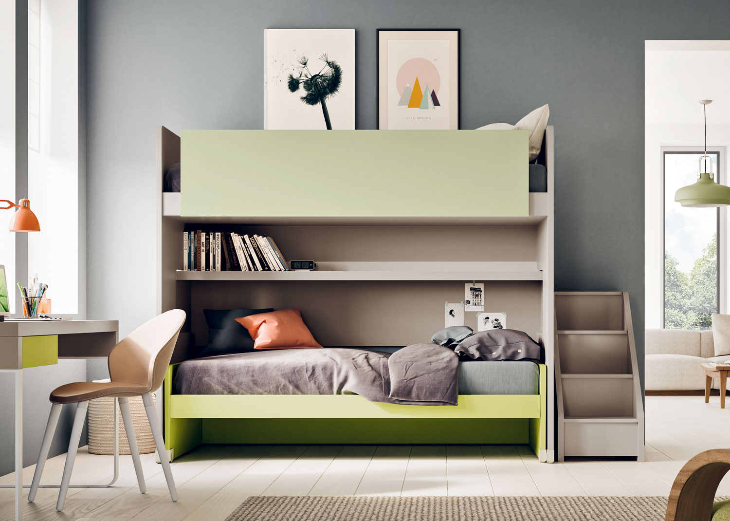 Kids Bedroom Furniture Space Saving Solutions Clever