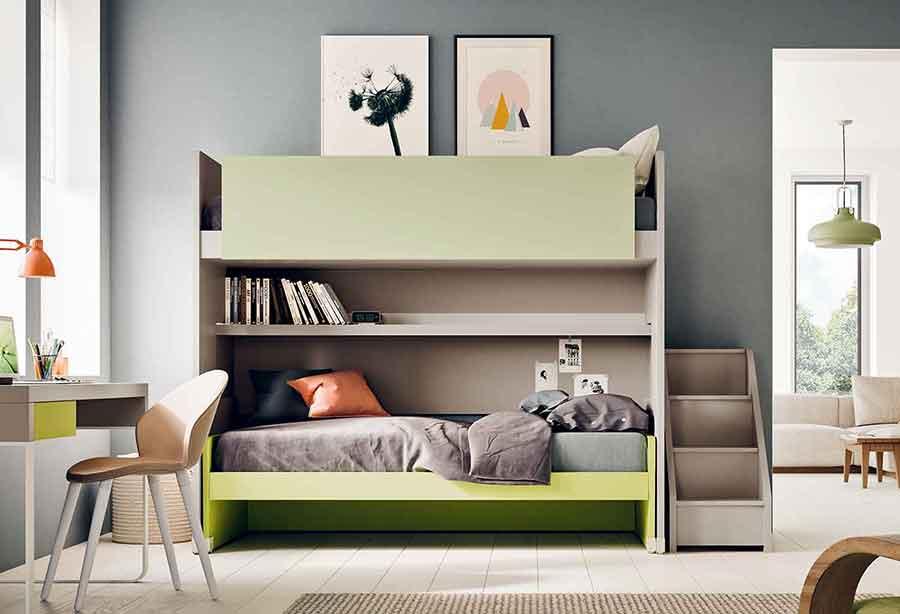 Camerette per bambini e ragazzi clever it - Camerette design bambini ...