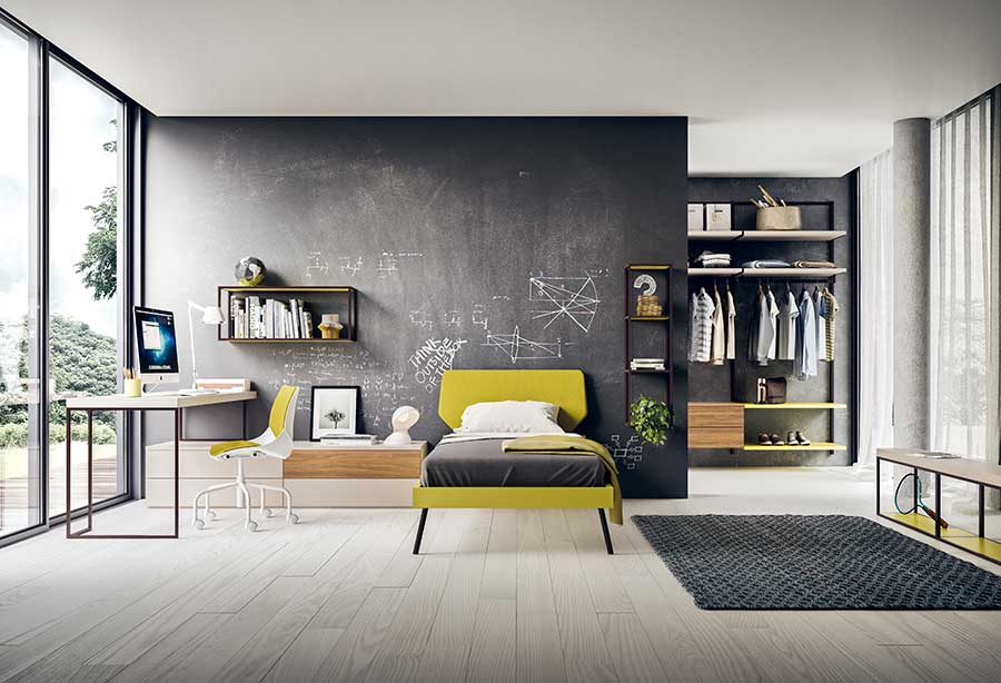 Create A Personalized Space With These Modern Teen Bedrooms: Discover A  Collection Of Cool Teenage Room Furniture Designed To Be Customized In Many  Colours.