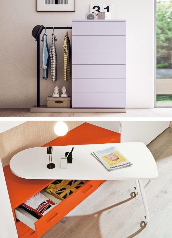 Due modelli di cassettiera originale per la cameretta