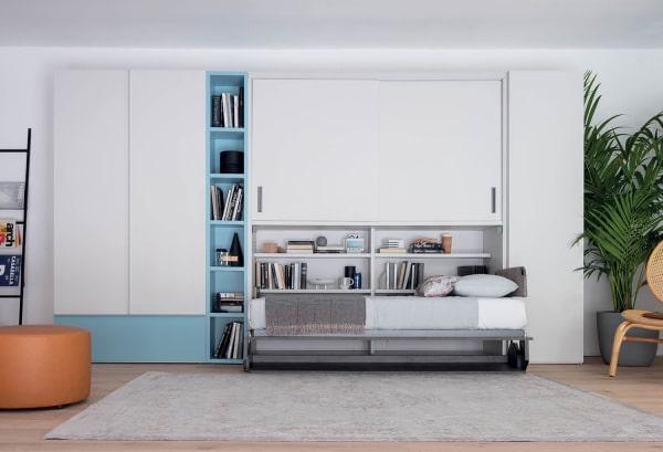 Mobile letto con armadio Hiro