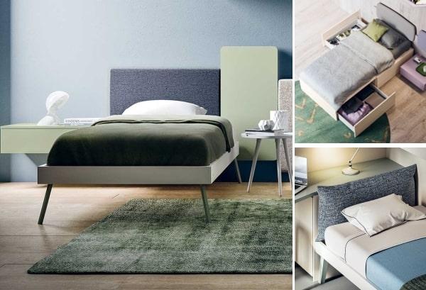 3 modelli di letto singolo per bambino o bambina