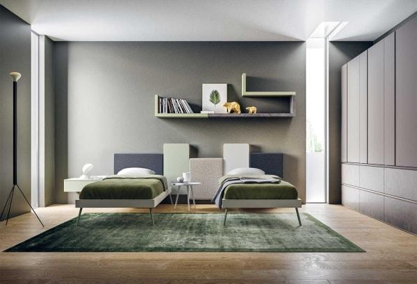 Come Disporre I Mobili Della Sala : News soluzioni per una cameretta con due letti clever