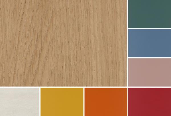 Nuova palette di colori Clever